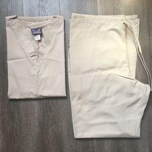Men's Scrub Set Size L